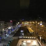 Vue depuis la terrasse OkkO Hôtel de Cannes