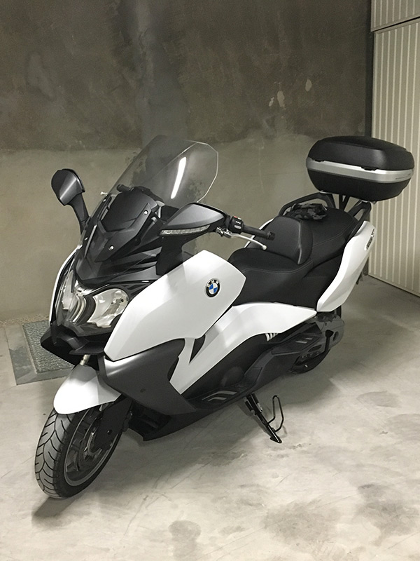 Maxi Scooter BMW : le choix de David Jazt