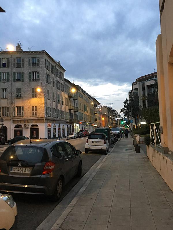 Cente ville de Nice