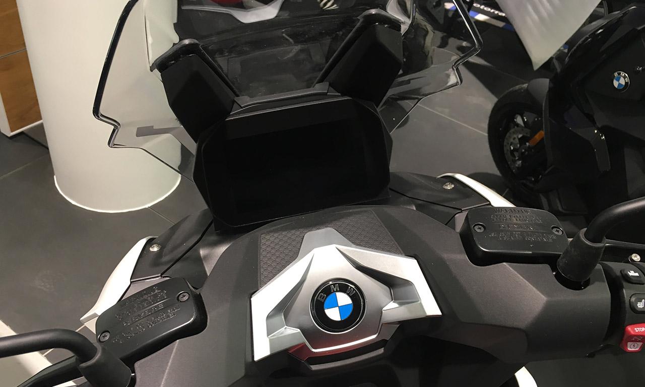 tableau de bord du CX 400 BMW