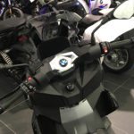 au guidon du CX 400 BMW