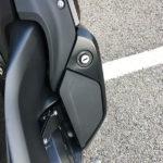vide poche : fermeture à clé sur le K1600GT