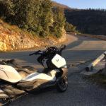 balade moto / scooter au coeur des montagnes