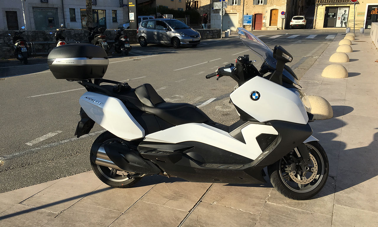 Scooter C650GT : Docks BMW Marseille