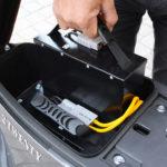 Batterie amovible sur le 2Twenty pour une recharge à la maison en toute facilité