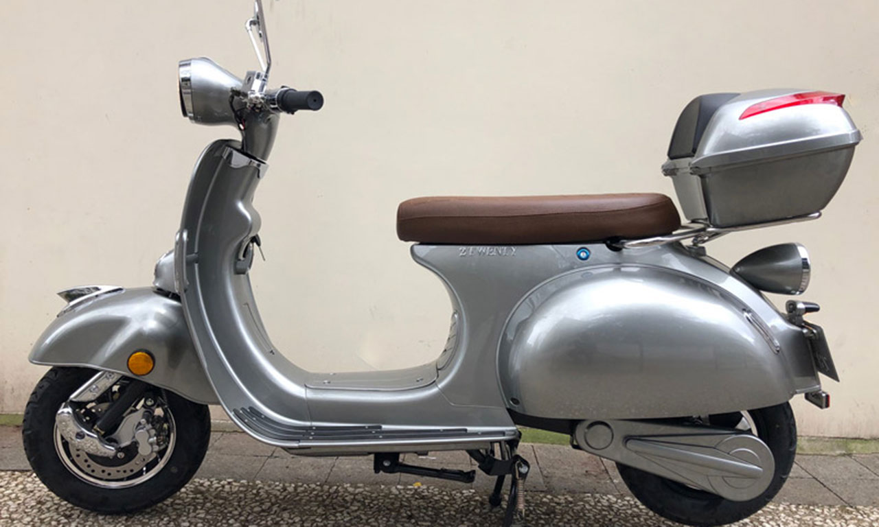 Scooter look retro pour le 2TWenty