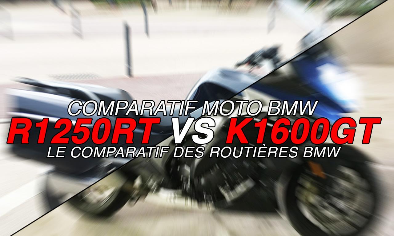 Comparatif moto BMW : K1600GT et R1250RT