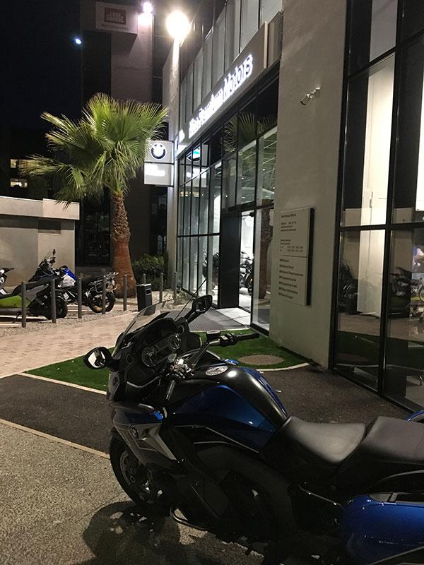 Essai moto BMW Nice