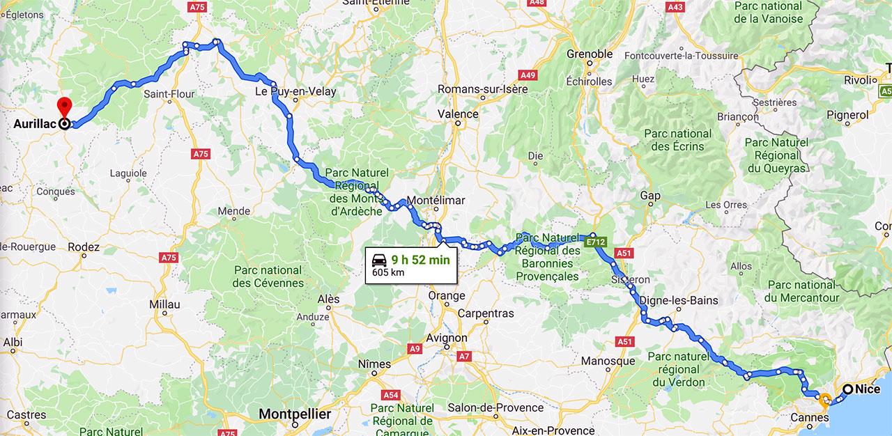 Nice - Aurillac : le point de rendez-vous du 25 mai 2019