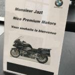 Livraison R1250RT chez Nice Premium Motors