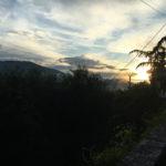Vue vers les montagnes depuis Gilette