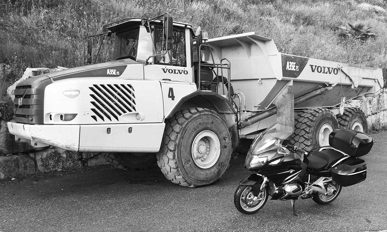 moto BMW pas si grosse finalement