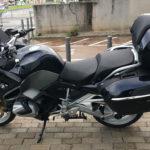 moto BMW R1250 RT avec TopCase
