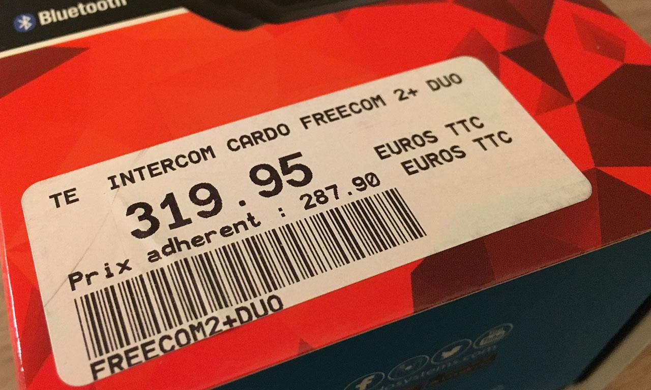 Budget du Freecom2+
