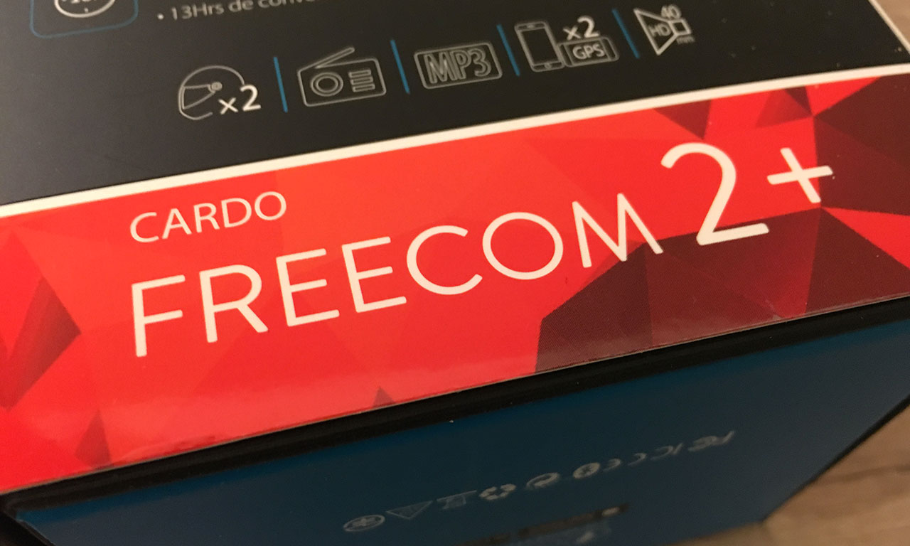 FREECOM 2+ : intercom motard scala rider