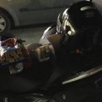 Pause casse-croute sur l'autoroute