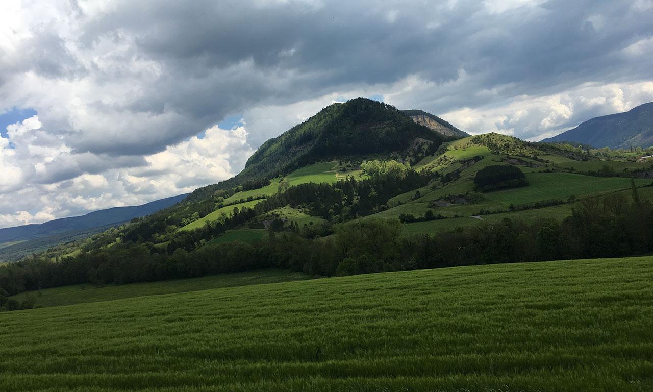 Petite montagne à Saint Bauzile
