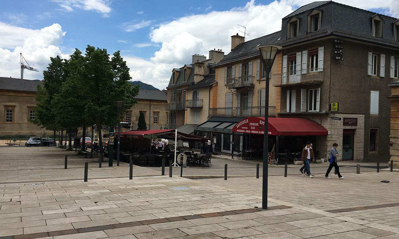 Place de la Rovère, Mende
