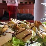 Une bonne salade à Mende pour le motard