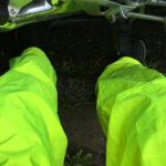 pantalon de pluie du motard