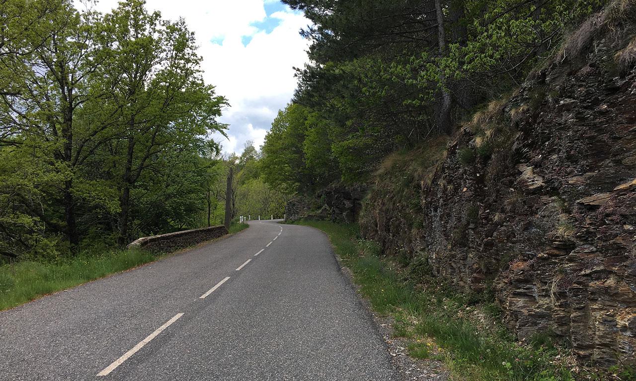 Saint Maurice de Ventalon et ses petites routes sinueuses