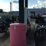Plein d'essence des motos