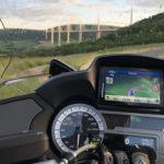 Viaduc de Millau en R1250RT BMW