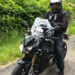 Arnaud, motard Rennais en BMW S1000R