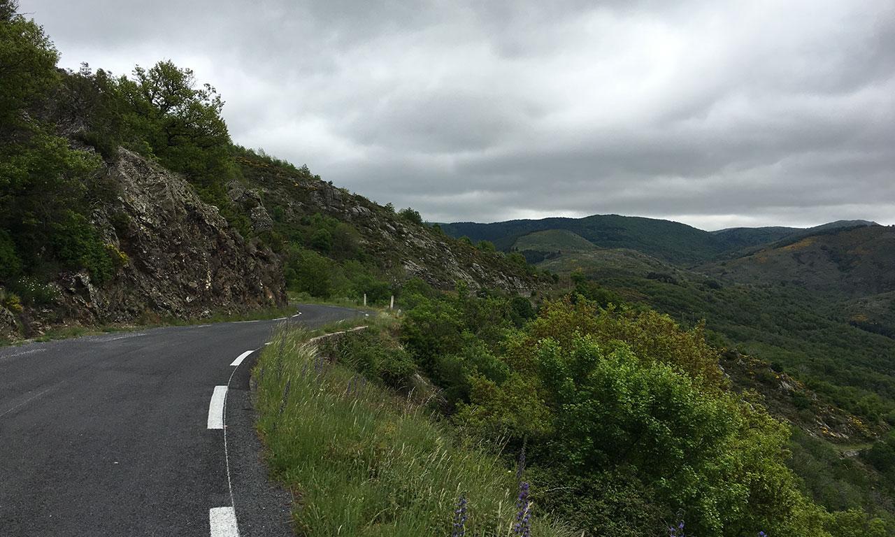 Route Sinueuses au coeur des Cévennes