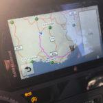 itinéraire par l'autoroute pour rentrer sur Nice