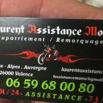 Laurent assistance moto à Valence