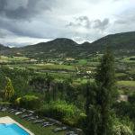 hotel La Clavelière : vue depuis la chambre triple