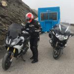 Balade moto avec les amis Bretons