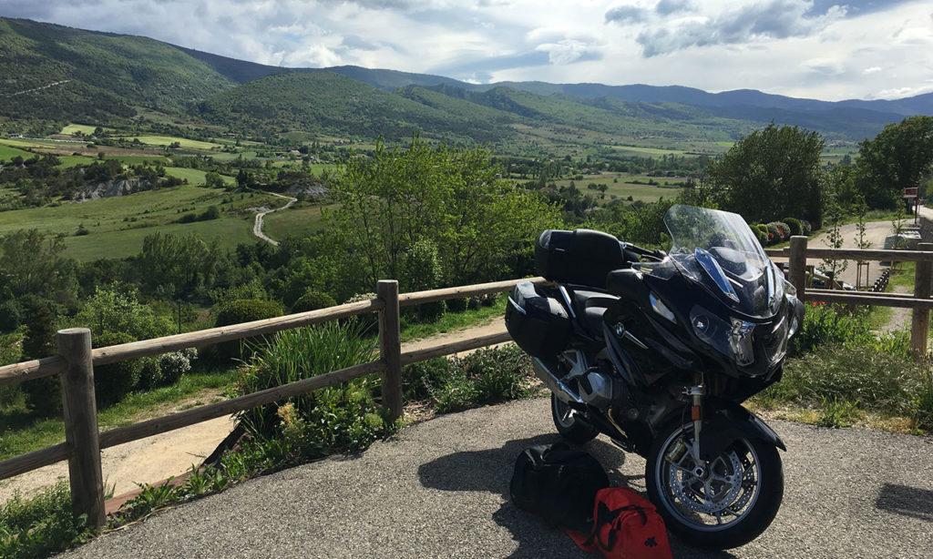 R1250RT à La Clavelière de Saint Auban sur l'Ouvèze