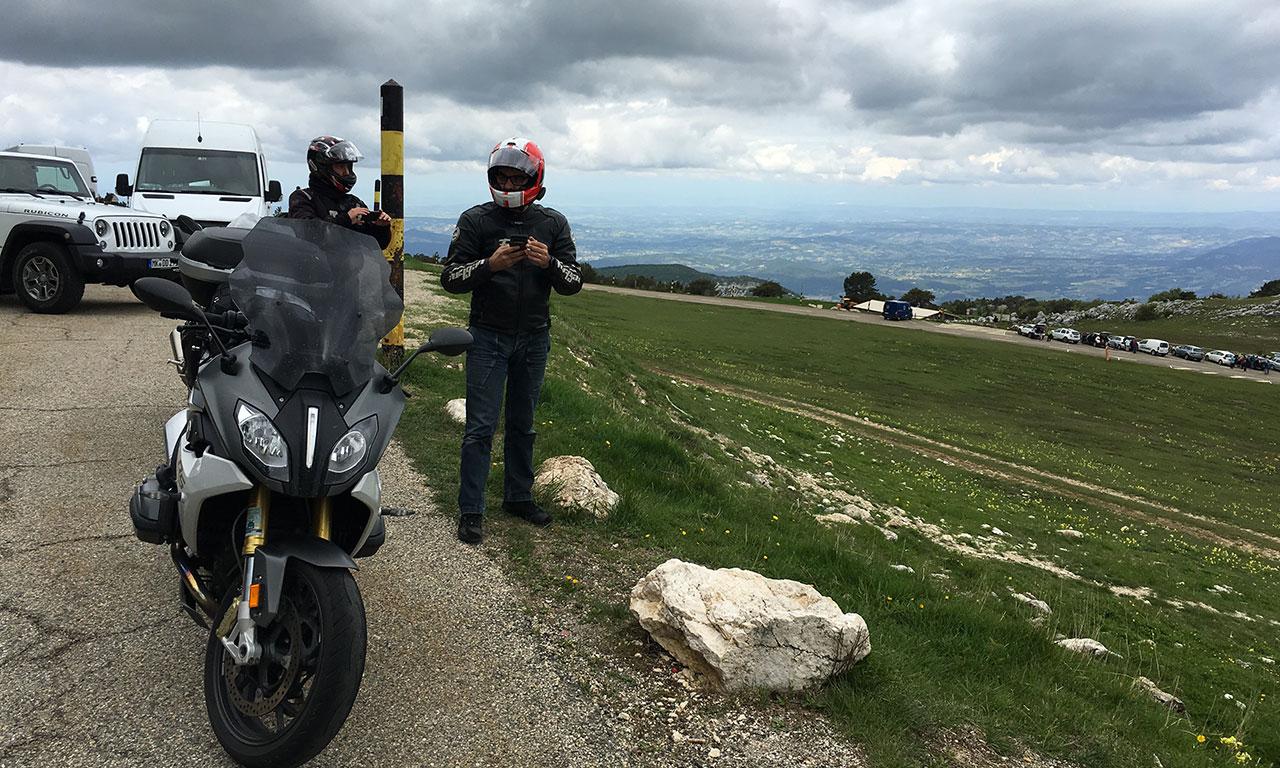 Mont Ventoux : arrêt sur le flanc sud
