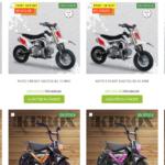 moto electrique pour les enfants