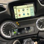 GPS Navigator 6 intégré au tableau de bord du R1250RT