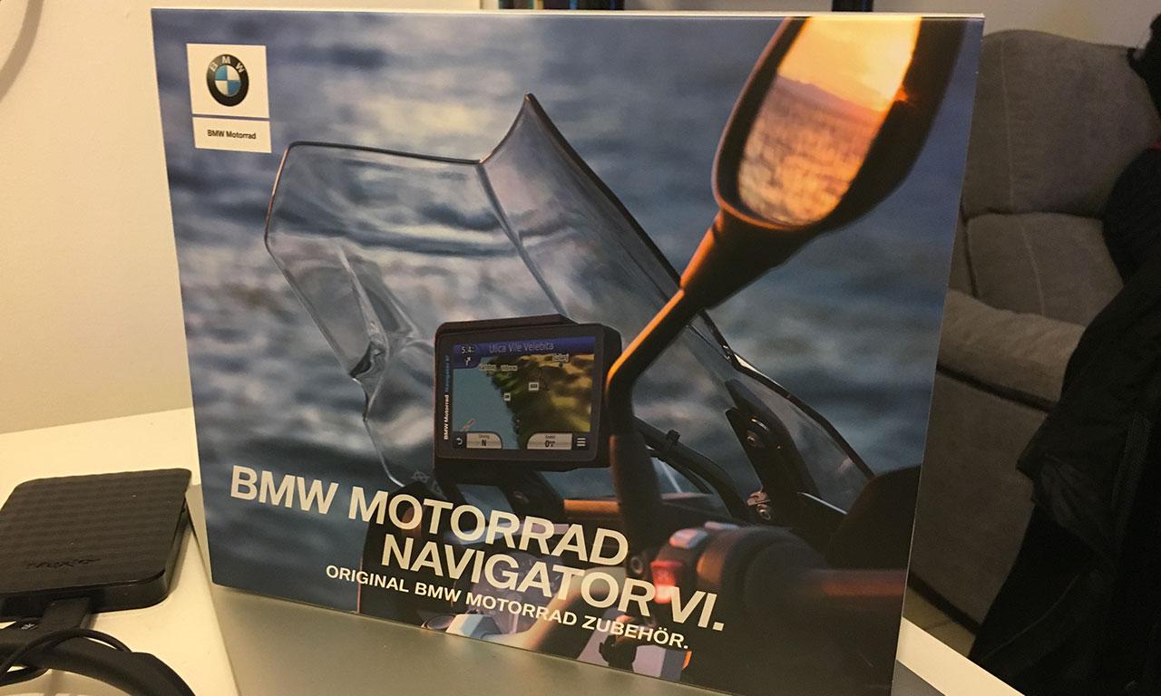 GPS moto : Navigator 6, dédié aux BMW