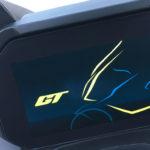 tableau de bord du scooter C400GT, LCD, présentation a l'initialisation