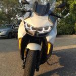 clignotant du C400GT BMW, scooter Allemand