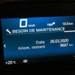 information au tableau de bord du C400GT BMW (4)