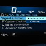 information au tableau de bord du C400GT BMW (3)