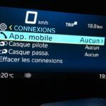 information au tableau de bord du C400GT BMW (2)