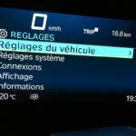 information au tableau de bord du C400GT BMW