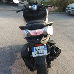 signature visuelle arrière du C400GT BMW, scooter Allemand