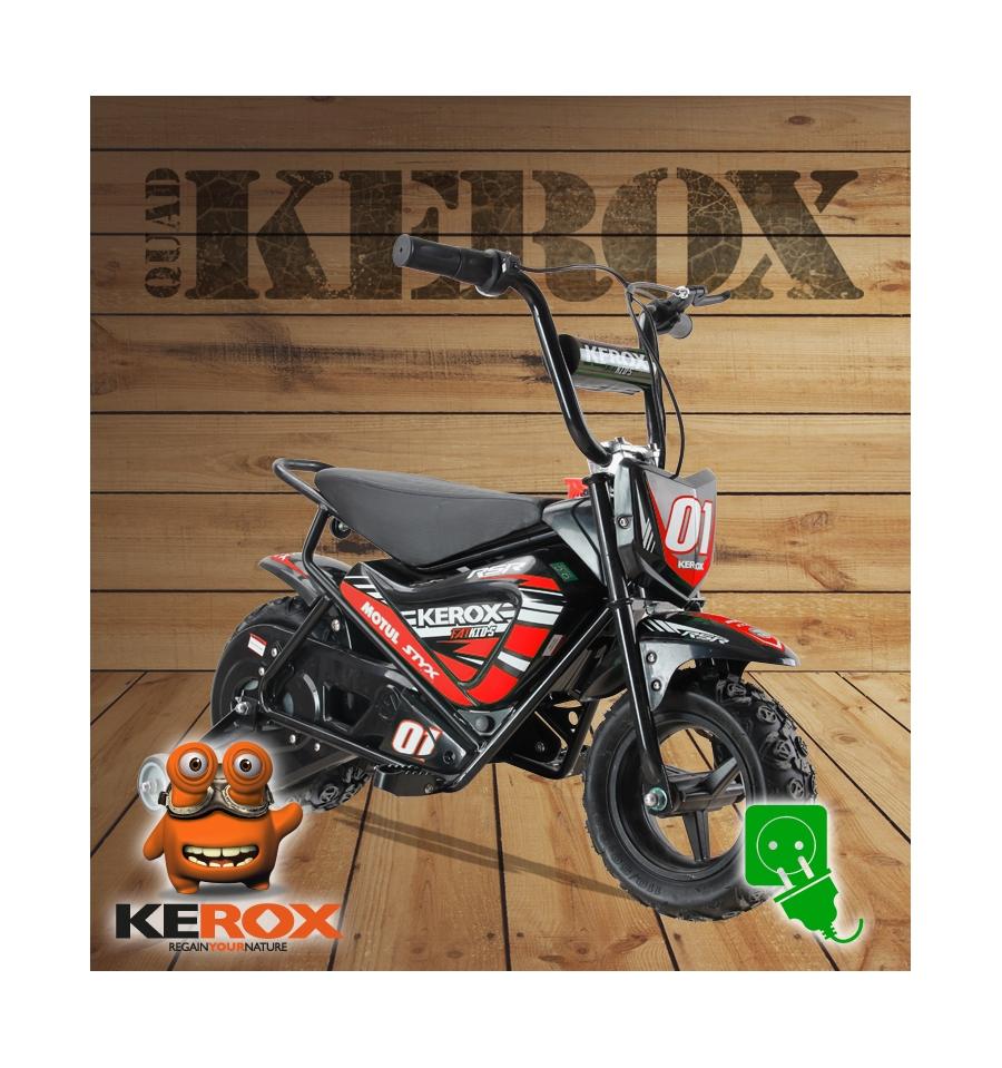 moto enfant electrique kerox rouge : le must !