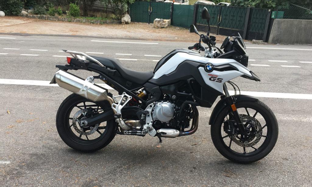 BMW F750GS chez BMW Motorrad Cannes