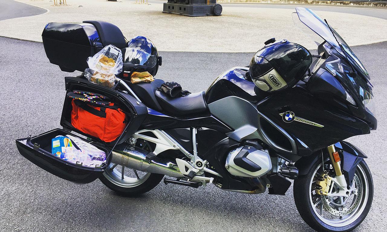 Balade moto à bord du R1250RT