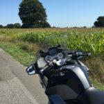 Balade moto en campagne