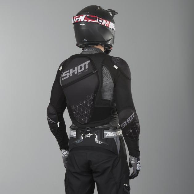 Gilet de protection avec dorsale